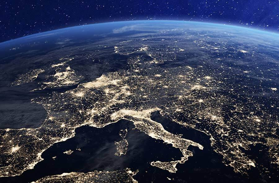 Regions in Europe